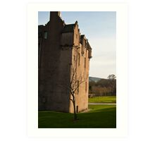 Cathes Castle at Sunset Art Print