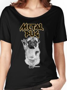 metal pug Women's Relaxed Fit T-Shirt