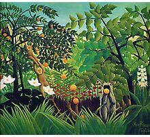 Henri Rousseau - Exotic Landscape Photographic Print