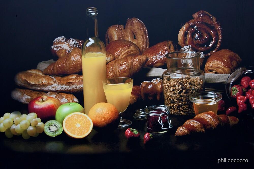 Elegant Breakfast by phil decocco