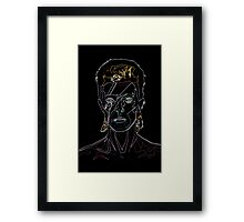 A Neon Lad Insane Framed Print