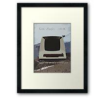 Lear Siegler ADM-3A  Framed Print