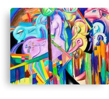 Franz Marc is a Brony Canvas Print