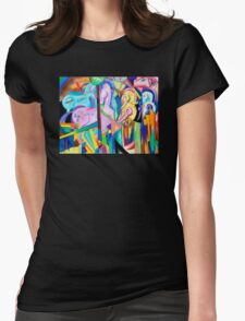 Franz Marc is a Brony Womens Fitted T-Shirt