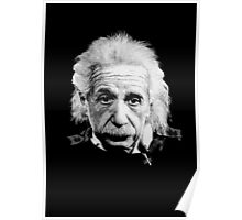 Albert Einstein E=mc² Illustration Poster