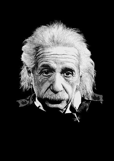 Albert Einstein E=mc² Illustration by Creative Spectator