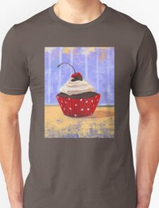 Red Cherry Cupcake Unisex T-Shirt
