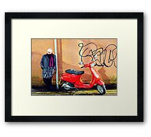 Jack The Mod Framed Print