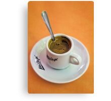 Perfect Cup of Coffee Canvas Print