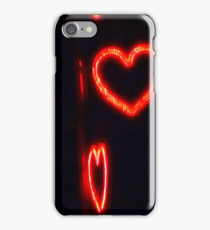 Hearts in the Night..I-phone case iPhone Case/Skin