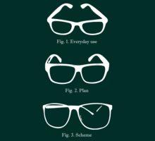 Slightly Larger Glasses Alternate by landborne