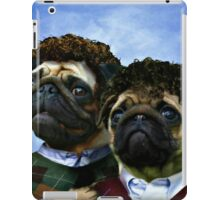 step pugs iPad Case/Skin