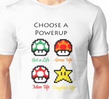 Mario Mushrooms Unisex T-Shirt
