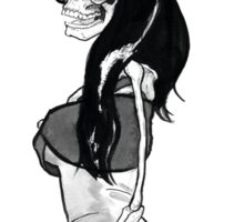 Ghost of Amy Winehouse Sticker