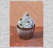 Chocolate Stars Cupcake One Piece - Long Sleeve