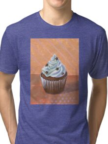 Chocolate Stars Cupcake Tri-blend T-Shirt