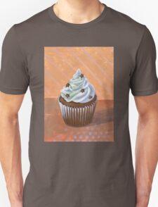 Chocolate Stars Cupcake Unisex T-Shirt