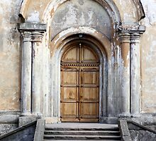 Church entrance by Cebas