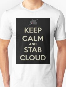 Keep Calm & Stab Cloud T-Shirt