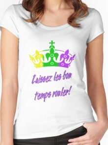Mardi Gras  Women's Fitted Scoop T-Shirt