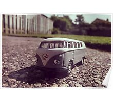 Super Mini VW Van Poster