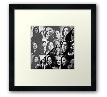 50 Shades of Regina Mills Framed Print