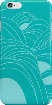 LINE CHAOS SHADOWS (TEAL) | MADE BY JROCHÉ by MADE BY JROCHÉ