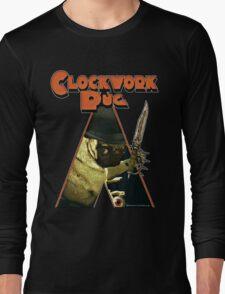 a clockwork pug Long Sleeve T-Shirt