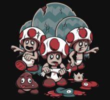 Trouble in the Mushroom Kingdom by powerpig