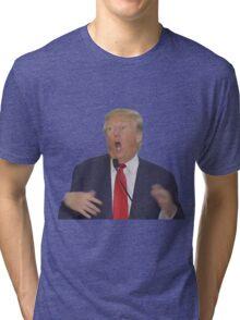 Donald Trump Retarded Tri-blend T-Shirt