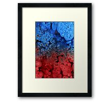 Volcanic waters Framed Print
