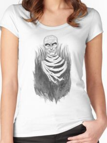 The Mummy Rises Women's Fitted Scoop T-Shirt