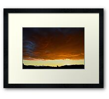 """The Rumbling Sky"" Framed Print"