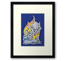 Tattoo Flame New Framed Print