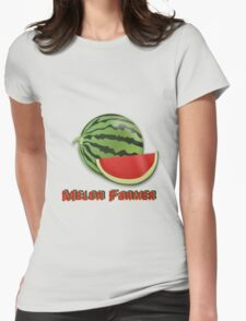 Melon Farmer Womens Fitted T-Shirt