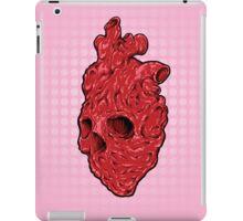 Skullentine Pink, by ARTmuffin iPad Case/Skin