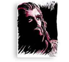 Thorin Oakenshield, amazing King Canvas Print