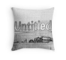 """Untitled"" Throw Pillow"