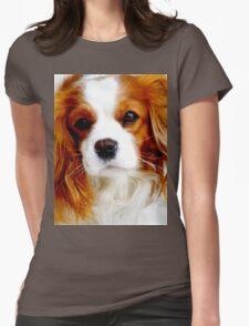 Cavalier King Charles Spaniel  Womens Fitted T-Shirt