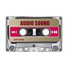 tape cassette illustration by dubassy