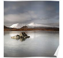 Black Mount & Lochan na h-Achlaise Poster