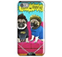 pugvis and squishface iPhone Case/Skin