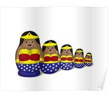 Wonder_Woman_Nesting_Dolls Poster
