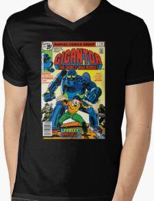 Gigantor Mens V-Neck T-Shirt