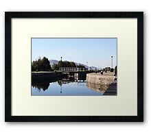 Neptune's Ladder Caledonian Canal at Corpach, Scotland Framed Print