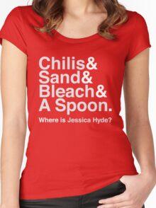 Utopia Jetset (White) Women's Fitted Scoop T-Shirt