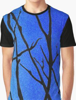 Ultramarine Forest Winter Blues III Graphic T-Shirt