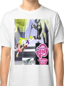 Final Fantasy VII: The Sacrifice Of Cloud - My Little Pony Version Classic T-Shirt