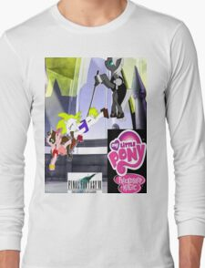 Final Fantasy VII: The Sacrifice Of Cloud - My Little Pony Version Long Sleeve T-Shirt