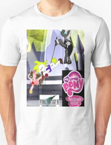 Final Fantasy VII: The Sacrifice Of Cloud - My Little Pony Version T-Shirt